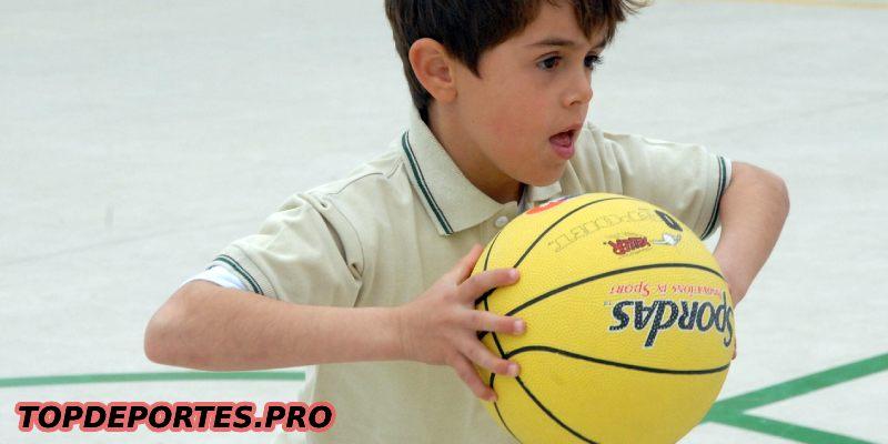 Canasta Baloncesto Niños